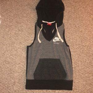 Nike muscle tank w/ hood
